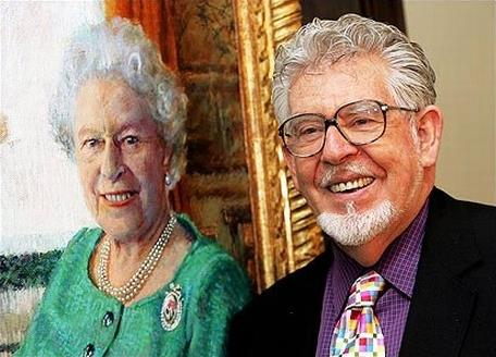 Rolf Harris & The Queen
