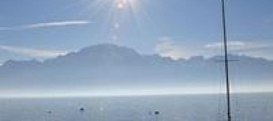 Sweet, shimmering Switzerland lakes