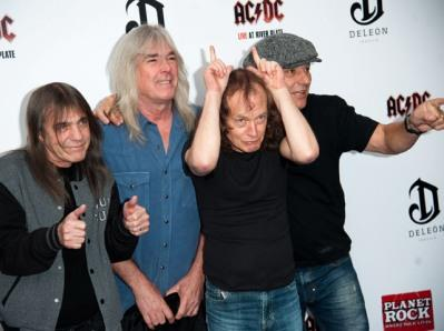 AC/DC World Premiere of Live At Riverplate DVD, Hammersmith Apollo, London