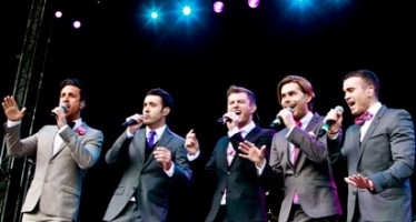 Booming Lachie drives The Overtones