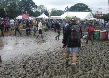 glasto mud