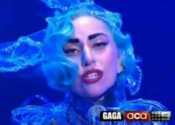 Lady Gaga on Australian television programme A Current Affair