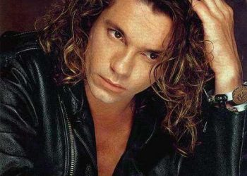 The late Michael Hutchence of INXS.
