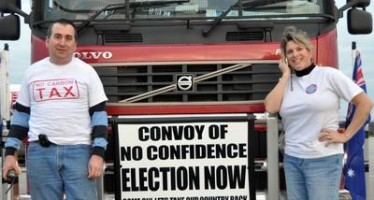 Convoy of No Confidence are whingers, says Brown