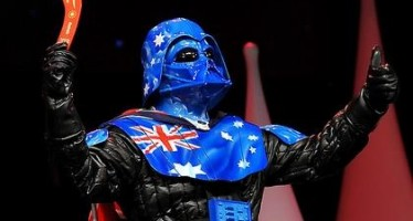 Aussie Vader gives the big thumbs up to Blu-ray