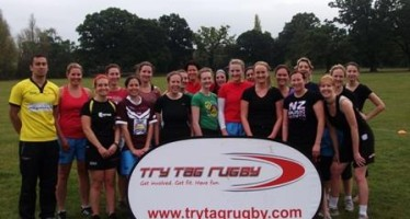 Girls just want to have some Tag Rugby fun
