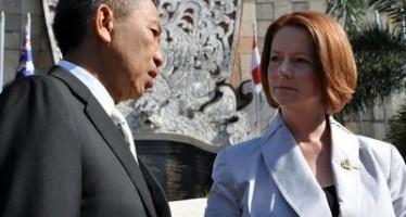 Gillard to tell China US pact not a threat