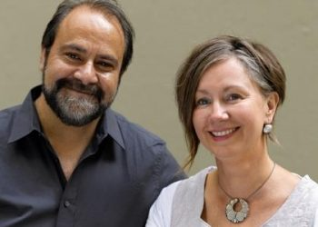 Greg and Lucy Malouf