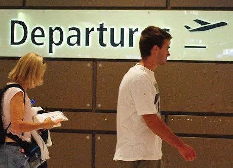 UK departures