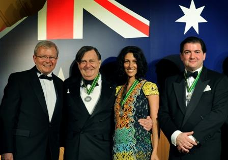 Australians of the Year in the UK winners