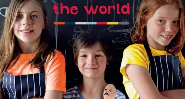 The Australian author getting more kids in the kitchen