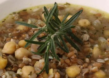Farro soup