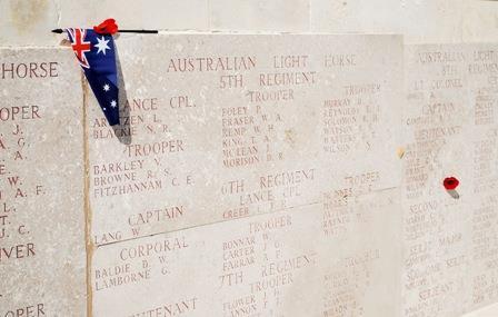 Memorial at Lone Pine