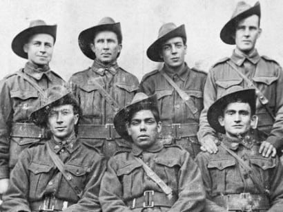 Australian diggers on the Western Front