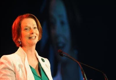 Julia Gillard St Patrick's Day