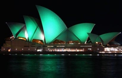 Sydney Opera House goes green