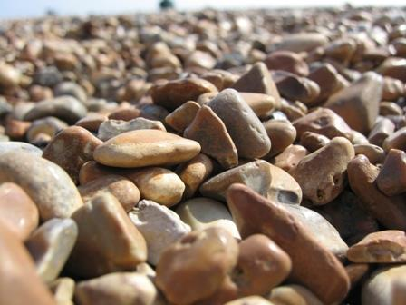 English pebble beach