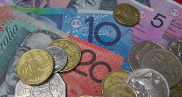 Aussie Dollar weakens