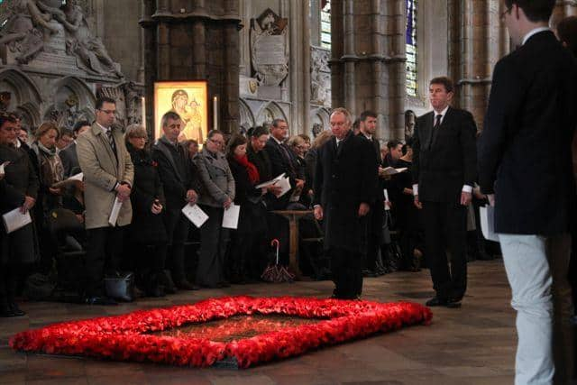 Commemoration and Thanksgiving to mark ANZAC Day, Westminster Abbey, London