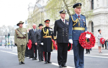 Australians to commemorate Anzac Day in London