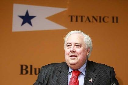 Titanic II - Clive Palmer