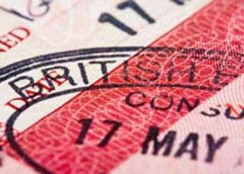UK British English Visa