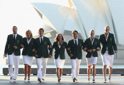 Australian Olympic Uniform