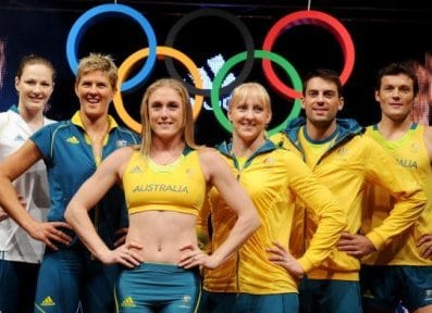 Australian Olympic uniforms