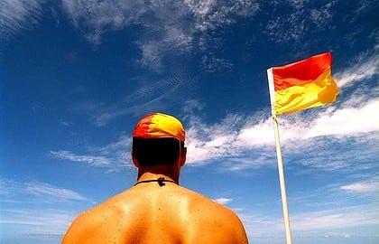 Australian surf lifesaver