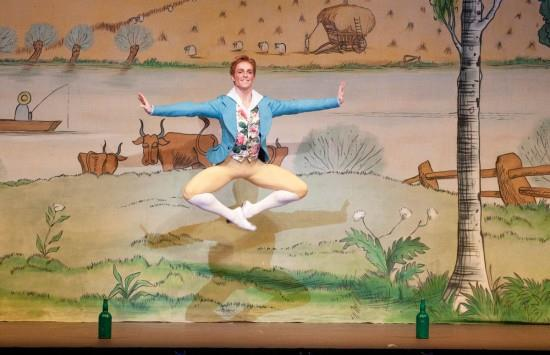 Steven McRae-zing at a cinema screen near you