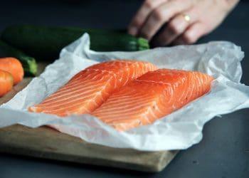 Salmon without heat