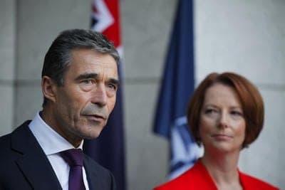 NATO_Rasmussen_Gillard_Australia