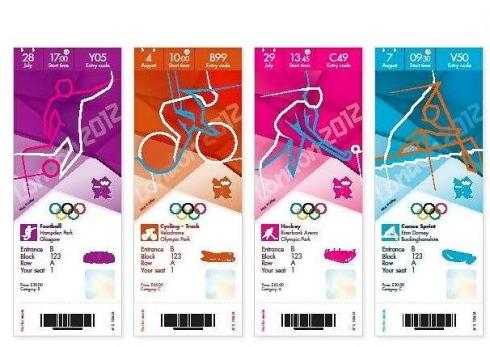 London Olympic tickets