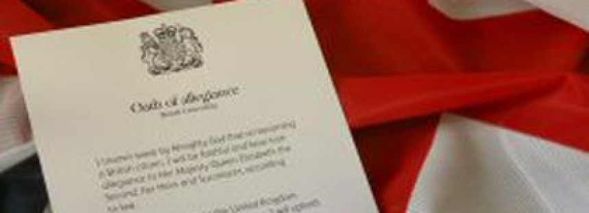 Becoming a British Citizen: Taking the Oath of Allegiance