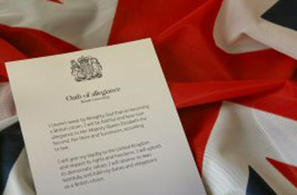 Which is the best oath options for british citizenship