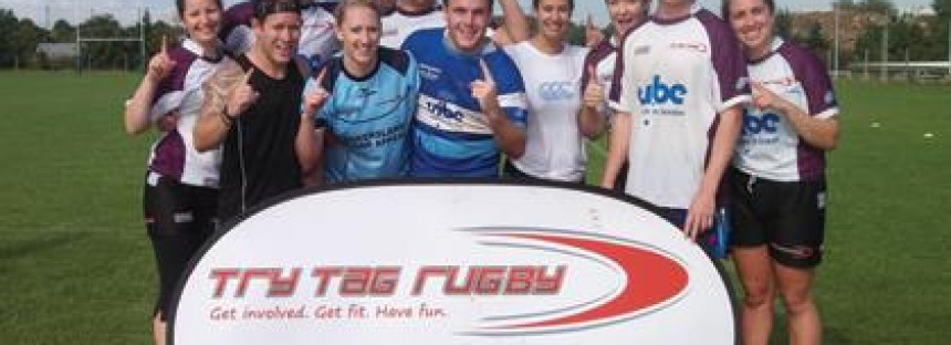 Clash of the Titans at the 2012 London Tag Rugby Championships!