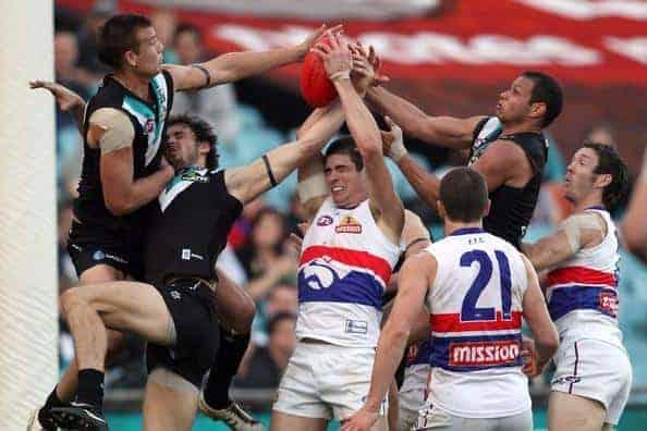 Port Adelaide v Western Bulldogs