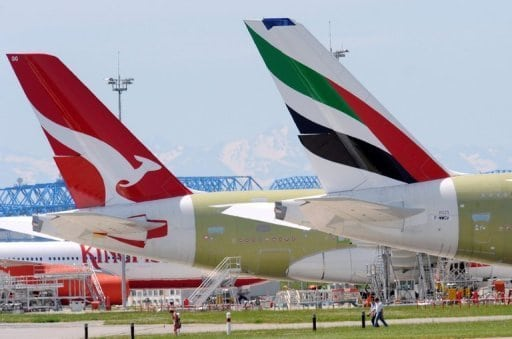 Qantas, Emirates talks