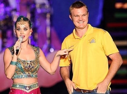 Doug Bollinger and Katy Perry