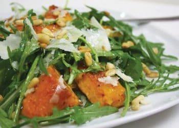 pumpkin rocket salad