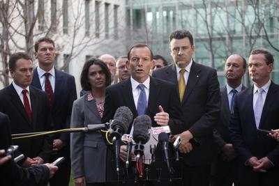 BHP Olympic Dam Mine - Tony Abbott