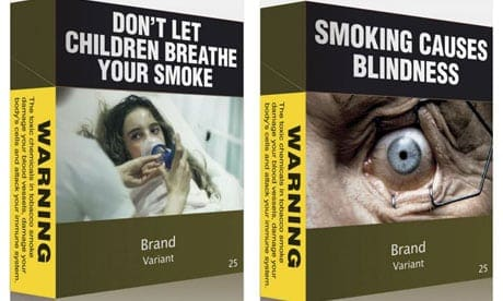 Australian tobacco plain packaging