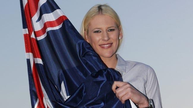 Lauren Jackson - Australian Olympic Team Captain