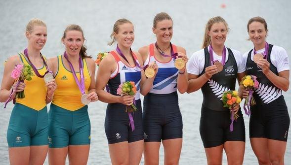 Aussie rowing silver
