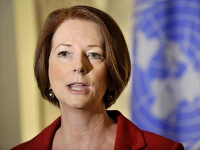 Julia Gillard at UN