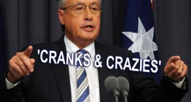 """Wayne Swan stands by """"cranks and crazies"""" Tea Party comments"""