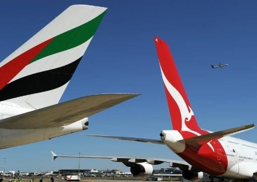 Qantas Emirates-
