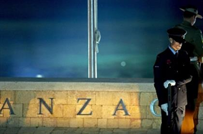 Anzac Day Gallipoli Cove
