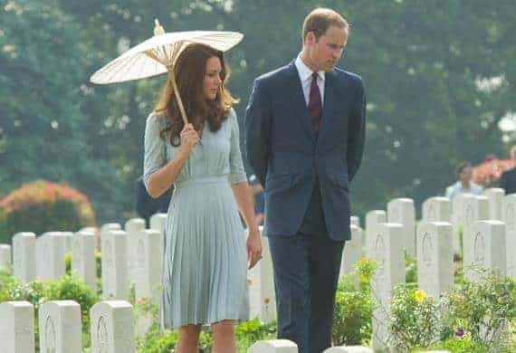 Will and Kate in Singapore
