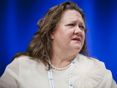 Gina Rinehart tops Australia's rich list, despite $7bn loss